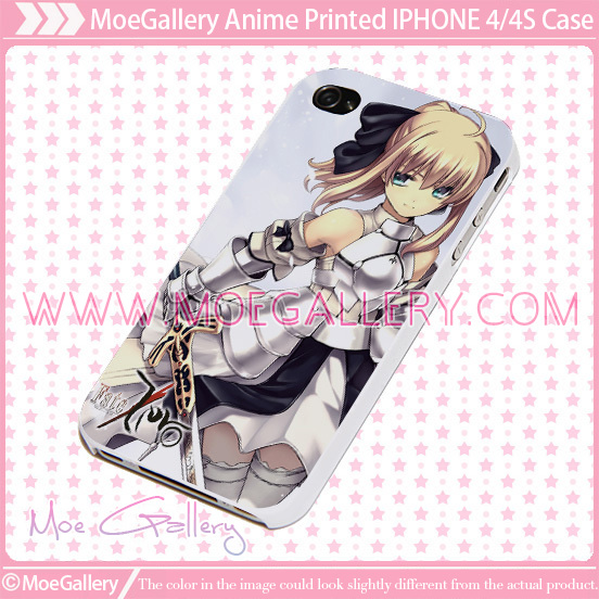 Fate Zero Saber iPhone Case 02