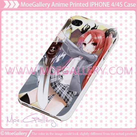Haiyore Nyaruko San Cthugha iPhone Case 01