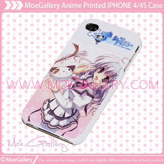 Mashiroiro Symphony Love Is Pure White Miu Amaha iPhone Case 01