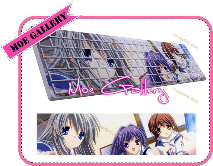 Clannad Tomoyo Sakagami Keyboard 04