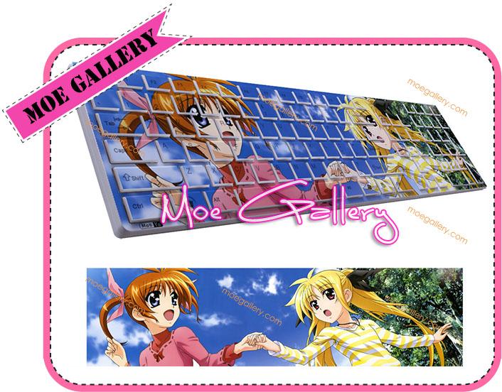 Magical Girl Lyrical Nanoha Nanoha Takamachi Keyboard 002