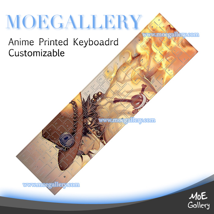 One Piece Portgaz D Ace Keyboards 06