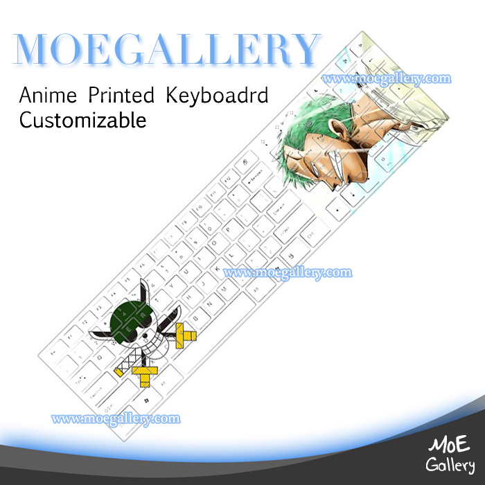 One Piece Roronoa Zoro Keyboards 06