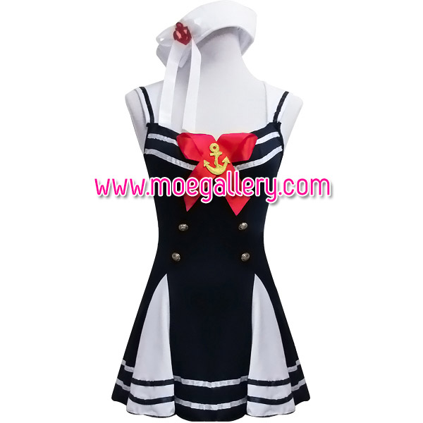Black Sexy Sailor Costume