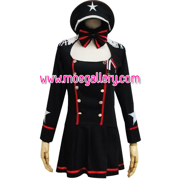 Callous Policewoman Cosplay Stage Costume