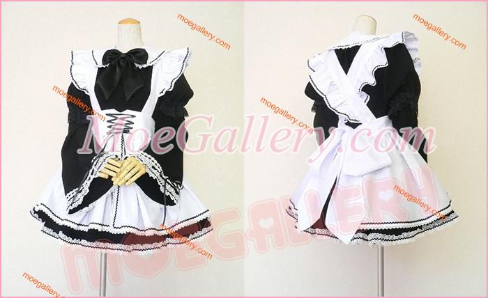 Gothic Mini Maid Cosplay Costume