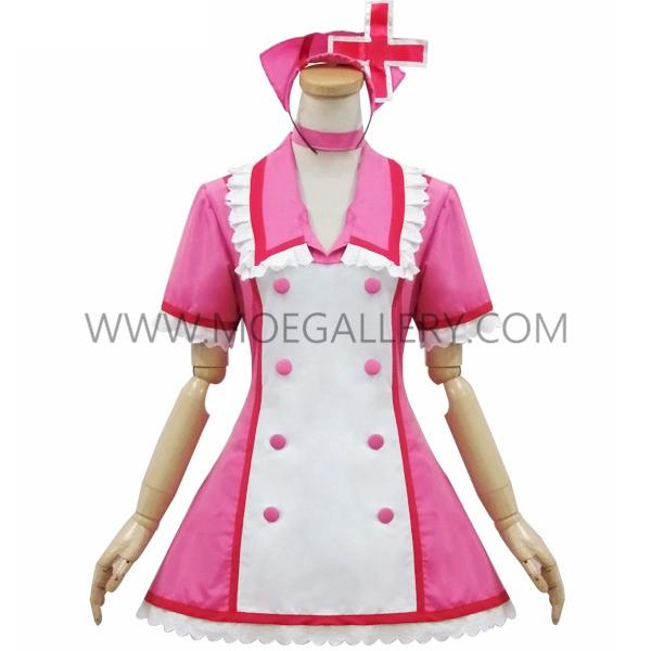 Hatsune Miku Style Peachblow Nurse Dress