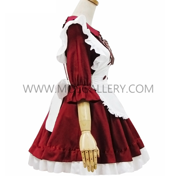 Hot Red Japanese Stage Costume