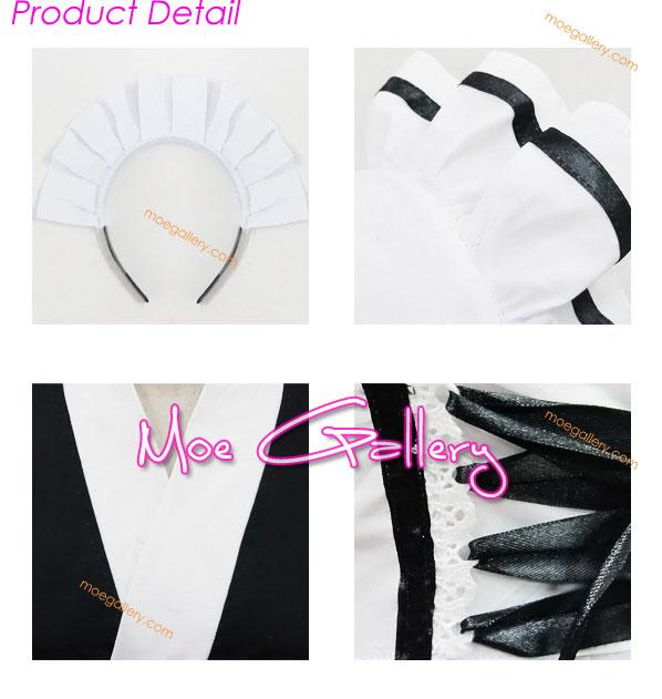 Kimono Maid Cosplay Costume