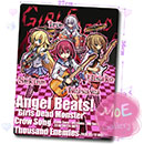 Angel Beats Girls Dead Monster Mouse Pad 01
