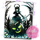 Black Rock Shooter BRS Mouse Pad 29