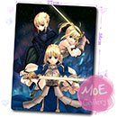 Fate Stay Night Saber Mouse Pad 17