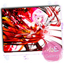 Guilty Crown Inori Yuzuriha Mouse Pad 05