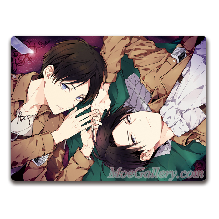 Attack On Titan Levi Eren Yeager Mouse Pad 01