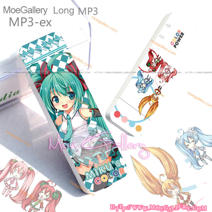 Vocaloid Hatsune Miku MP3 Player 02