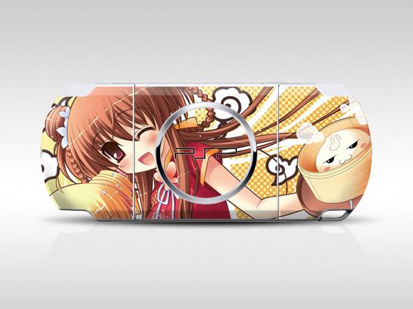 Anime Girl PSP Skin