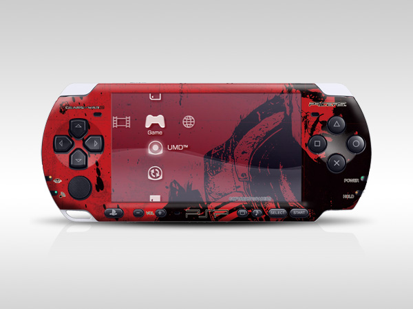 Gears of War PSP Skin
