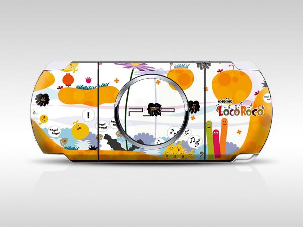 Loco Roco PSP Skin