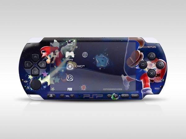 Mario PSP Skin
