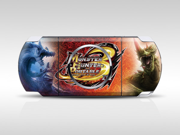 Monster Hunter Tri PSP Skin