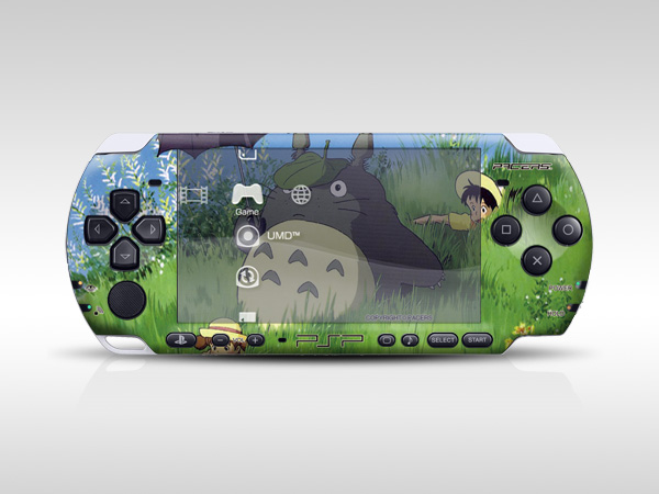 My Neighbor Totoro PSP Skin