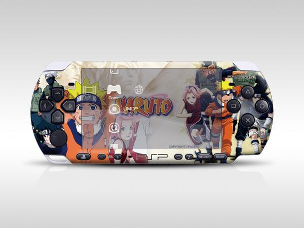 Naruto PSP Skin