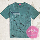Gundam Unicorn T-Shirt Blue Tee