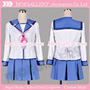 Angel Beats Yuri Nakamura Cosplay Costume