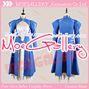 Fate Stay Night Fate Zero Saber Cosplay Costume