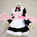 Cute Girl Maid Dress Short Sleeve