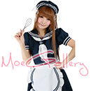 Navy Sailor Maid Dress