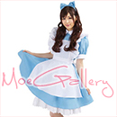 Alice Light Blue Maid Dress
