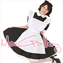 Black Classical Cafe Maid Dress