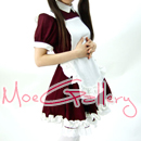 Cosplay Waitress Costume Maid Dress With Hairpin
