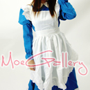 Blue Cosplay Kawaii Maid Dress