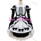 Gorgeous Classic Black White Maid Dress
