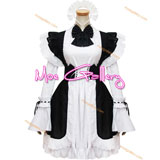 Classic Black White Maid Dress
