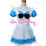Alice In Wonderland Costumes Blue Dress