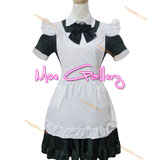 Cosplay Waitress Costume Maid Dress