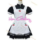 Cute Cherry Maid Cosplay Costume