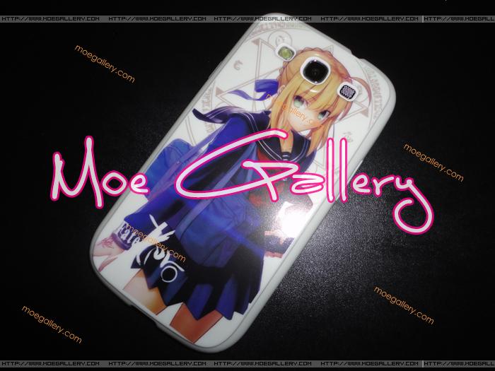 Fate Stay Night Fate Zero Saber Samsung i9300 Case 02