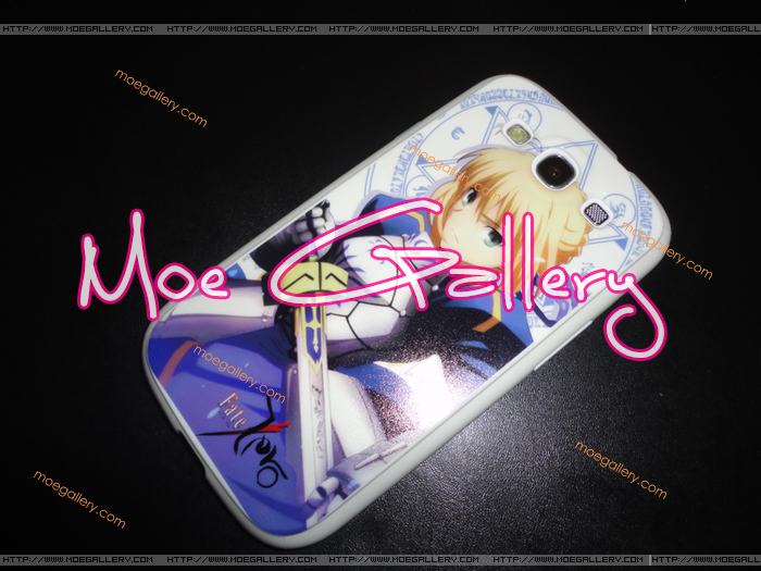 Fate Stay Night Fate Zero Saber Samsung i9300 Case 03