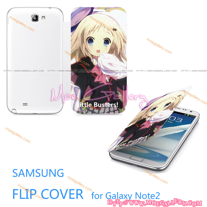 Little Busters Kudryavka Nomi Samsung Note 2 Covers 01