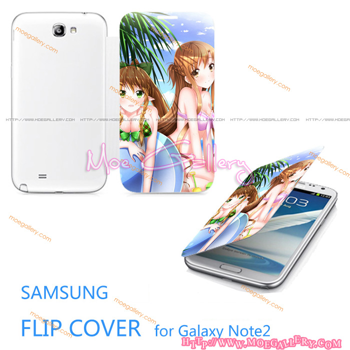 Sword Art Online Asuna Yuuki Samsung Note 2 Covers 06