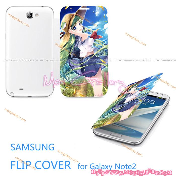 Touhou Project Kotiya Sanae Samsung Note 2 Covers 02