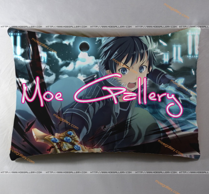 Sword Art Online Kirito Standard Pillow 03