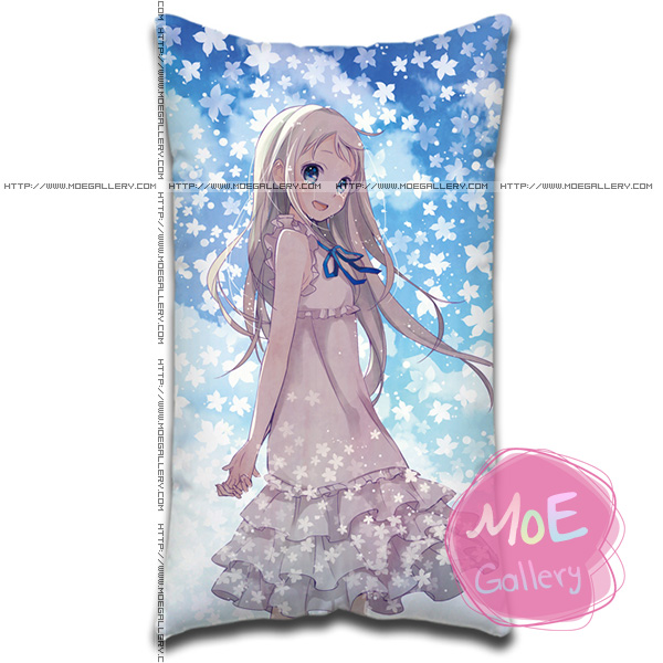 Anohana The Flower We Saw That Day Meiko Menma Honma Standard Pillow 02