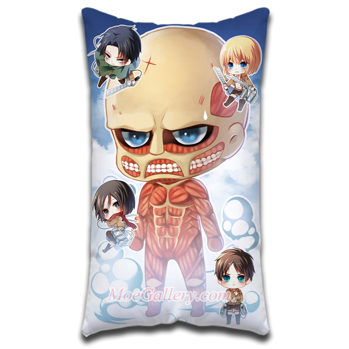 Attack On Titan Colossus Titan Standard Pillow 01