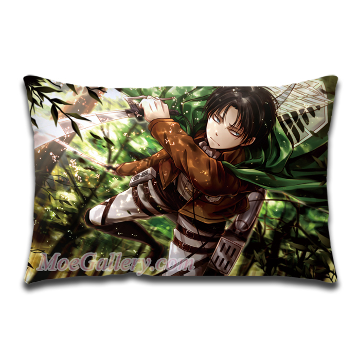 Attack On Titan Levi Standard Pillow 01