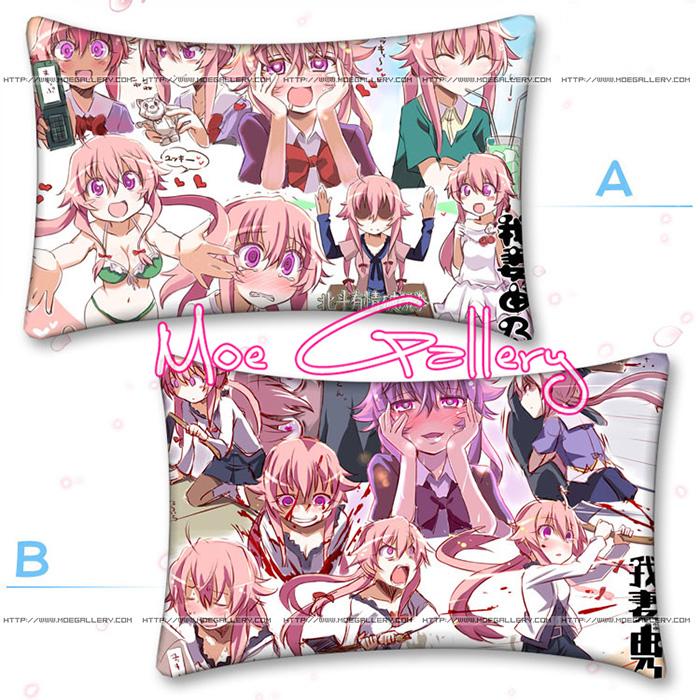 Future Diary Gasai Yuno  Standard Pillow 02